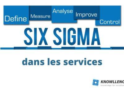 Intérêt du Six Sigma dans les Services: une évolution naturelle