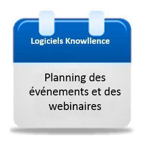 Planning webinaires et actualites