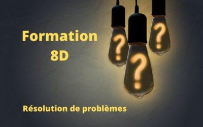 Formation 8D : méthodologie de résolution de problèmes