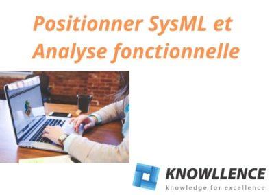 Comment positionner Analyse fonctionnelle et SysML – par C Laval, Apte System