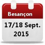 """Stand lors de la """"Rentrée du Dispositif Médical"""" les 17 et 18 septembre 2015 à Besançon"""