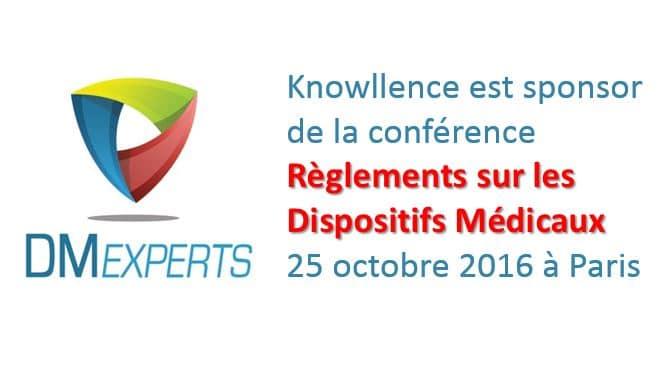 Conférence DM Experts : règlements sur les DM 2016