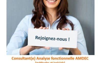 Consultant Formateur AMDEC Analyse fonctionnelle (méthodes et logiciels) (H/F) France entière