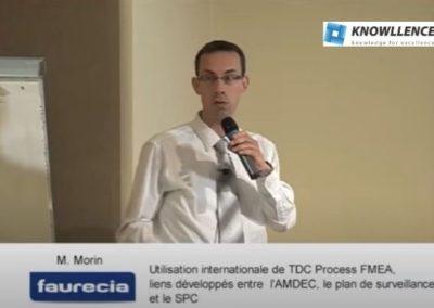 Faurecia: logiciel amdec, caractéristiques spéciales, spc