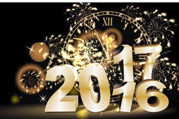 Nos meilleurs voeux pour 2017 !