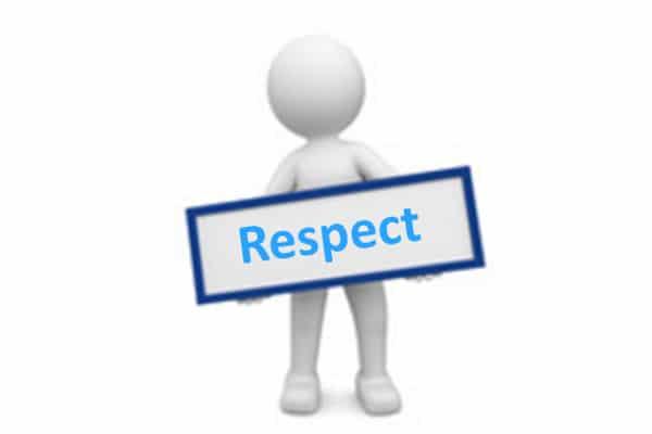 Le respect, une des valeurs de Knowllence