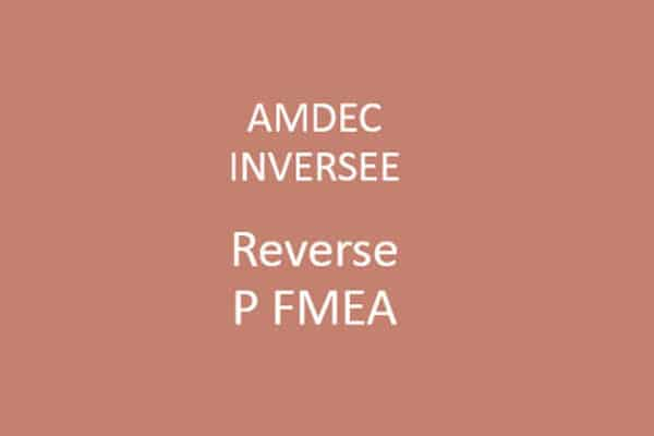 Reverse FMEA Training