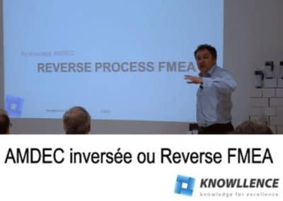 AMDEC inversée: Faites descendre vos AMDEC dans l'atelier !