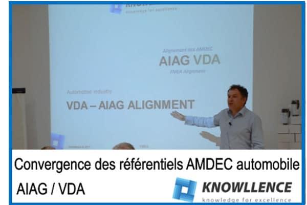 convergence des référentiels AMDEC AIAG VDA