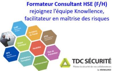 Offre d'emploi CDI Formateur Logiciel Santé Sécurité Environnement (F/H)- France entière
