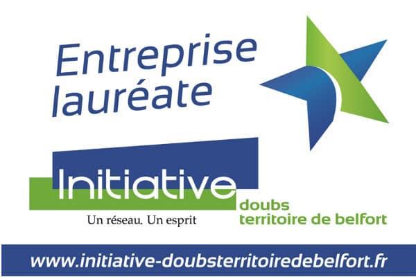 Entreprise lauréate de Initiative Doubs Territoire de Belfort