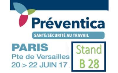 Stand TDC Sécurité à Préventica Paris, du 20, 21, 22 juin 2017!