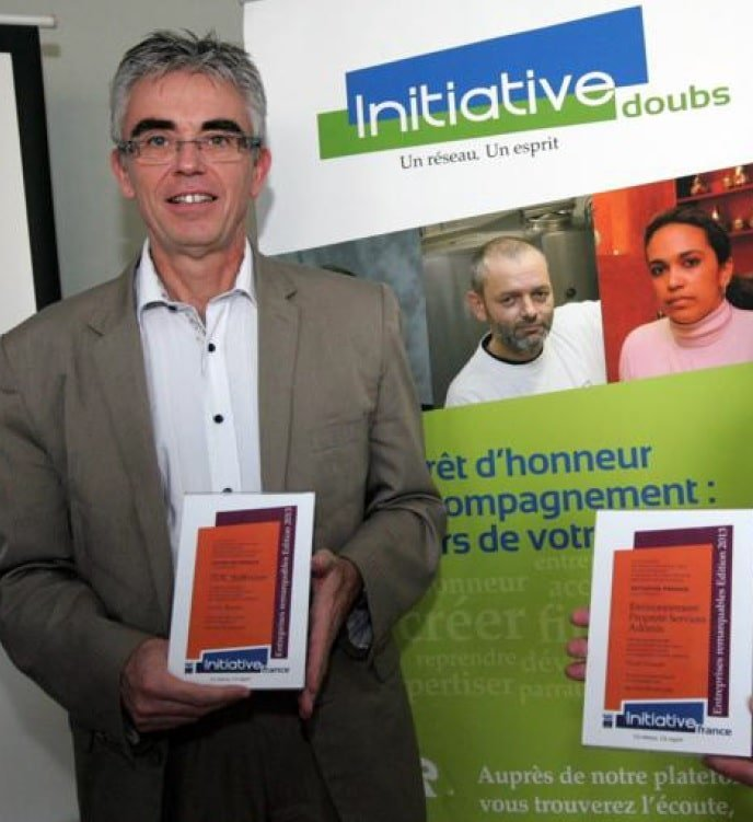 Prix Entreprise remarquable de Initiative France pour TDC Knowllence