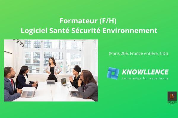 Knowllence recherche 1 formateur Consultant HSE pour TDC Sécurité