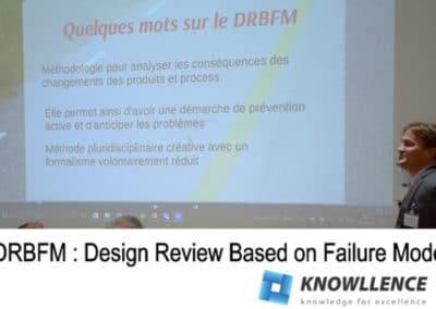 DRBFM Revue de conception fondée sur les modes de défaillance