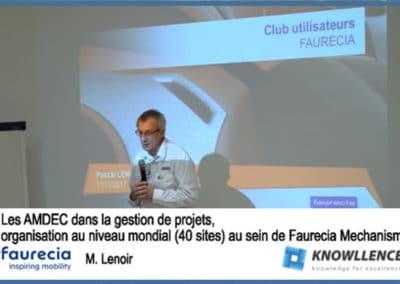 Faurecia : AMDEC FMEA et projets complexes