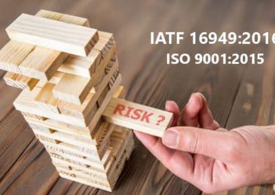 Gestion des Risques Entreprise / Risk Management IATF 16949 : 2016