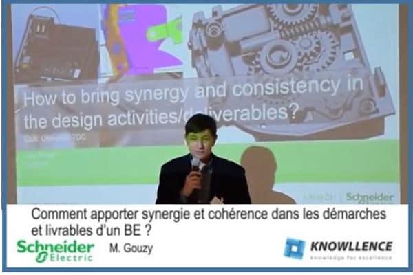 Schneider Electric utilise les logiciels Knowllence