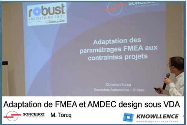 Sonceboz AMDEC FMEA AIAIG et VDA
