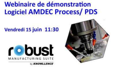 Webinaire Logiciel AMDEC Process: Pilotez la robustesse de votre industrialisation (30 min.)