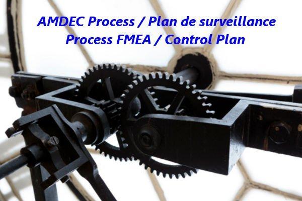 Comment lier amdec process et plan de surveillance