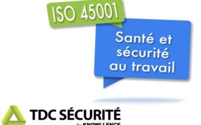 Logiciel ISO 45001:2018, Pourquoi choisir TDC Sécurité