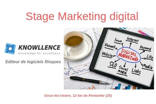 Stage Marketing Référencement Webmaster – Bac+2 /+3 – Proche Pontarlier (25)