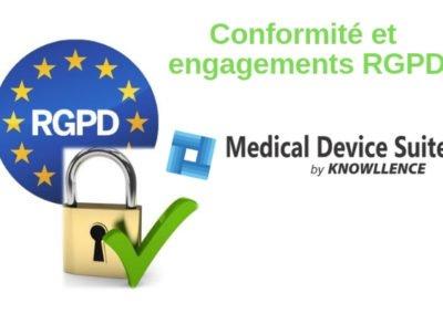 Medical Device Suite et la conformité RGPD