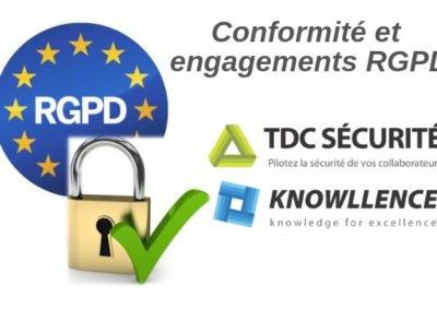TDC Sécurité est conforme RGPD