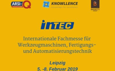 Knowllence at INTEC 2019, Leipzig, Germany