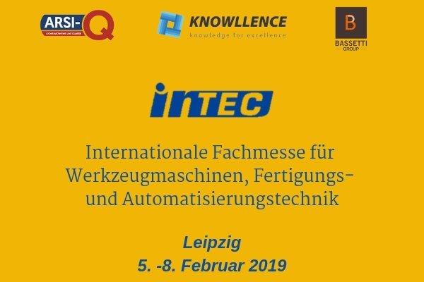 Knowllence & Arsi-Q INTEC 2019 (Leipzig)