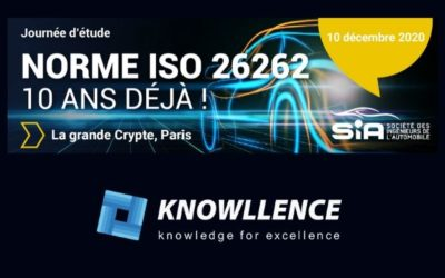 Journée ISO 26262 de la SIA, 10 décembre 2020 Paris