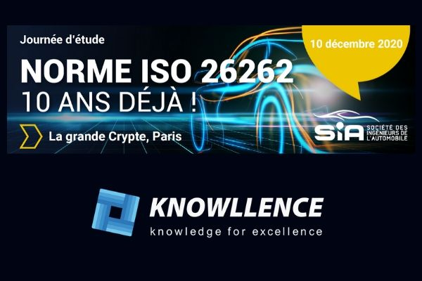 ISO 26262 et logiciels Knowllence