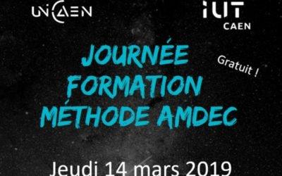 Journée AMDEC Caen: formation AMDEC gratuite, IUT Site de Vire