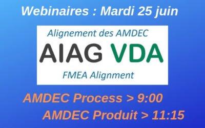 Nouveau référentiel AMDEC AIAG VDA