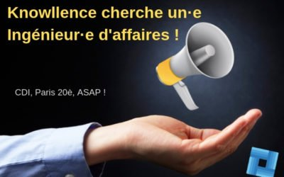 Editeur de logiciels cherche ingénieur d'affaires Paris (F/H)