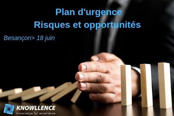 Démonstration logiciel plan d'urgence, risques & opportunités