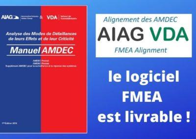 Méthode AMDEC AIAG-VDA : guide et logiciel