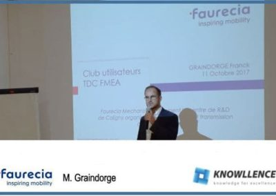 Faurecia / FMEA and SPC: R&D communication and factories