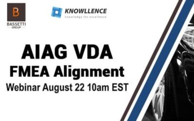 AIAG-VDA FMEA Alignment webinar from our colleagues of BASSETTI Americas