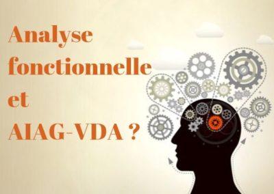 Analyse fonctionnelle et AIAG-VDA: quoi de neuf ?