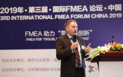 Bassetti China with Knowllence to 3rd international FMEA Forum China 2019
