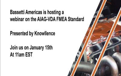 Join us for a webinar on the AIAG-VDA FMEA Standard