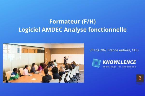Knowllence recherche 1 consultant AMDEC H/F