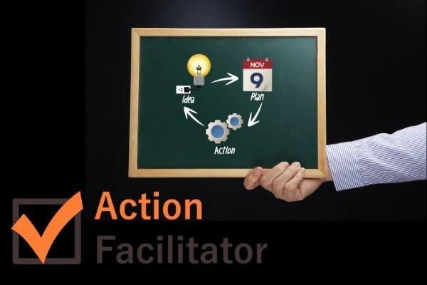 action facilitator: plan d'action entreprise
