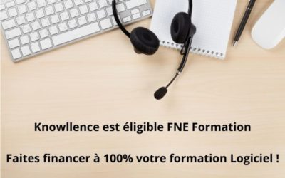 FNE formation : Knowllence est éligible !