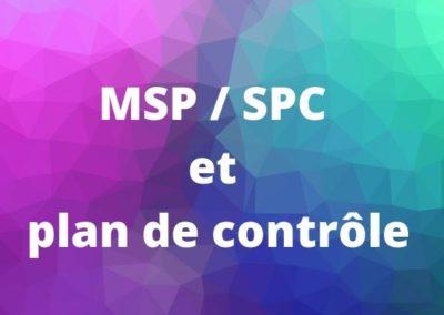 Lien SPC et Plan de surveillance