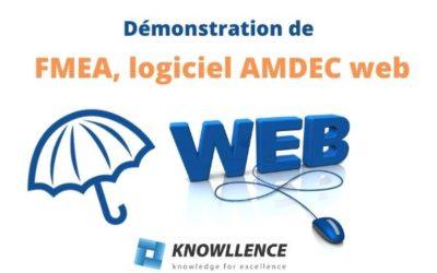 Découvrez la version web de FMEA, logiciel AMDEC