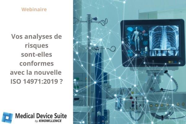 Logiciel et conformité ISO 14971:2019