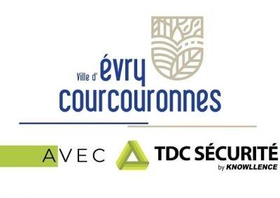 Satisfaction sur TDC Sécurité à la Ville d'Evry-Courcouronnes